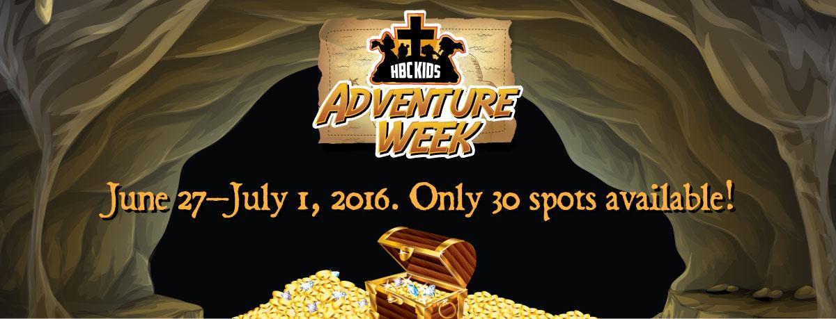 HBC Kids Adventure Week